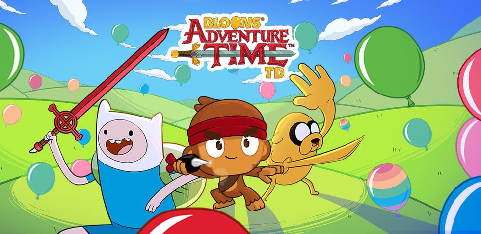 Bloons Adventure Time Adventure Time Apps Cartoon Network Mobile Apps